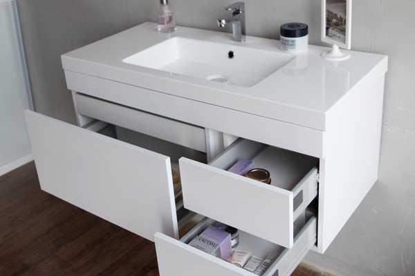 Подвесная тумба для ванной