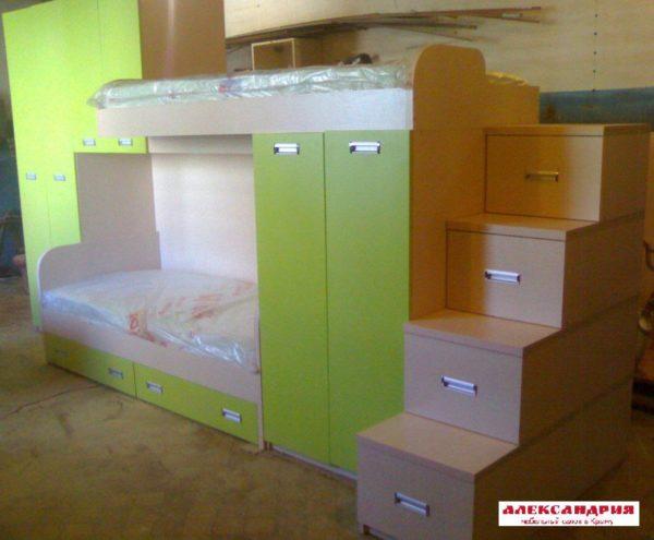 Детская мебель DM 024 Александрия мебель на заказ в Симферополе