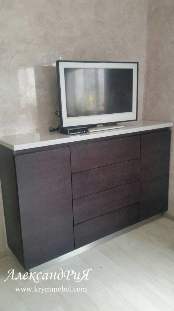 Комод КТ 027 Александрия мебель на заказ в Крыму