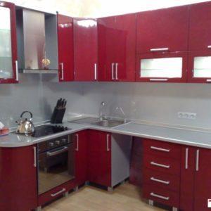 Кухня МДФ крашенный KM129. Кухни на заказ в Симферополе