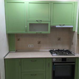 Кухня МДФ крашенный KM134. Кухни на заказ в Симферополе