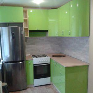 Кухня МДФ крашенный KM137. Кухни на заказ в Симферополе