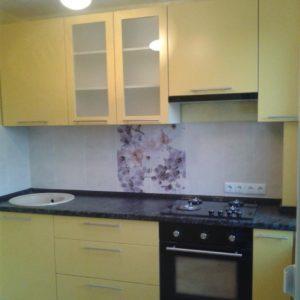 Кухня МДФ крашенный KM71. Кухни на заказ в Симферополе с ценами и фото