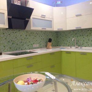 Кухня МДФ крашенный KM89. Кухни на заказ в Симферополе