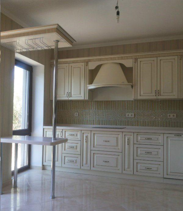Кухня МДФ патина PA119. Кухни на заказ Симферополь