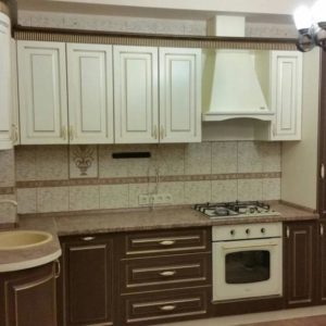 Кухня МДФ патина PA136. Кухни на заказ Симферополь
