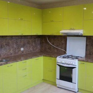 Кухня МДФ пластик PC154. Кухни на заказ в Симферополе