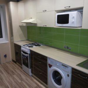 Кухня МДФ пластик PC155. Кухни на заказ в Симферополе