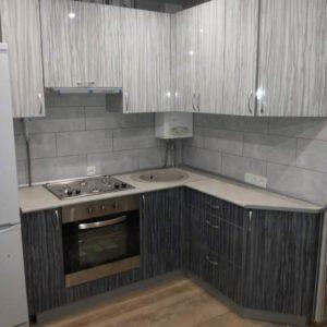 Кухня МДФ пластик PC162. Кухни на заказ в Симферополе