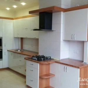Кухня МДФ пластик PC170. Кухни на заказ в Симферополе
