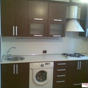 Кухня МДФ пленочный PL101. Кухня на заказ в Симферополе