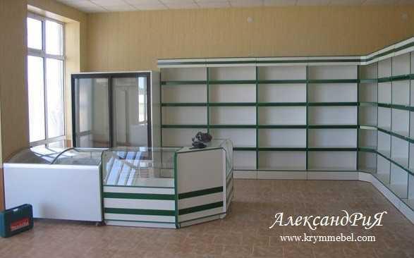 Торговая мебель ТО 69. Купить торговую мебель на заказ в Симферополе