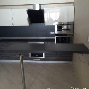 Кухня МДФ пластик PC 173 Кухни на заказ в Симферополе по низким ценам