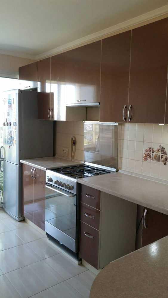 Кухня МДФ пластик PC 174 Кухни на заказ в Симферополе