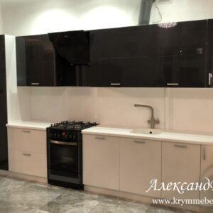 Кухня акрил KА 58. Кухни на заказ в Симферополе с ценами