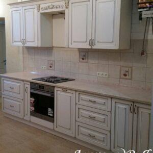 Кухня МДФ патина PA 148. Кухни на заказ Симферополь. Мебель на заказ в Крыму от производителя