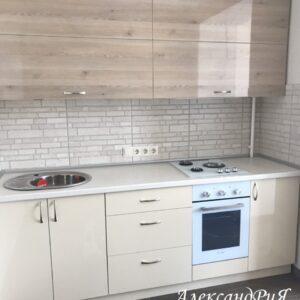 Кухня МДФ пластик PC 177 Кухни на заказ в Симферополе по низким ценам