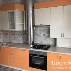 Кухня МДФ пластик PC 179 Кухни на заказ в Симферополе по низким ценам