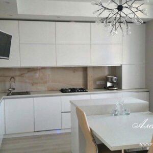 Кухня МДФ крашенный KM 146. Кухни на заказ в Симферополе