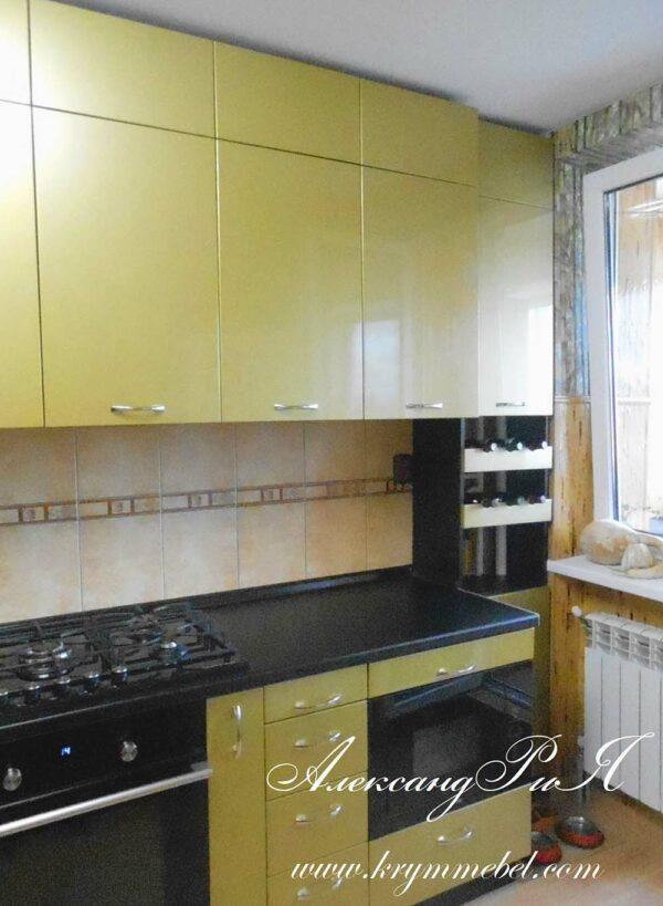 Кухня МДФ крашенный KM 147. Кухни на заказ в Симферополе