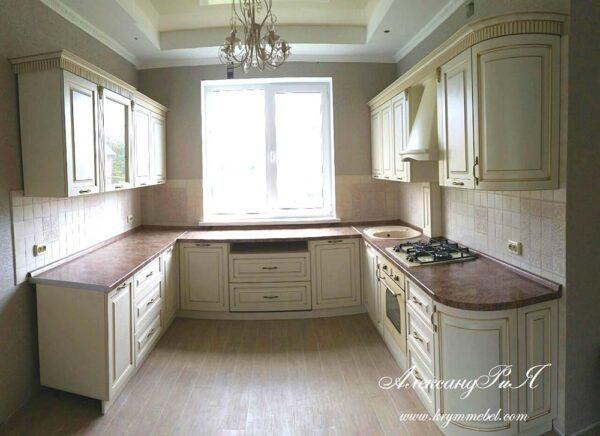 Кухня П-образная
