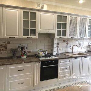 Кухня МДФ крашенный KM 149. Кухни на заказ в Симферополе