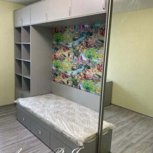 Мебель в детскую с серых тонах